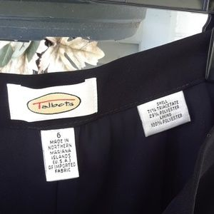 TALBOTS EXCEPTIONAL PANTS